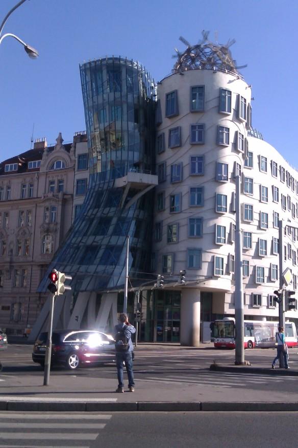 Gehry Tanzendes Haus Prag, auch Ginger und Fred